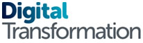 Digital transformation logo
